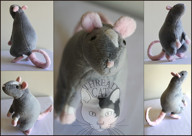 Plush Fancy Rat