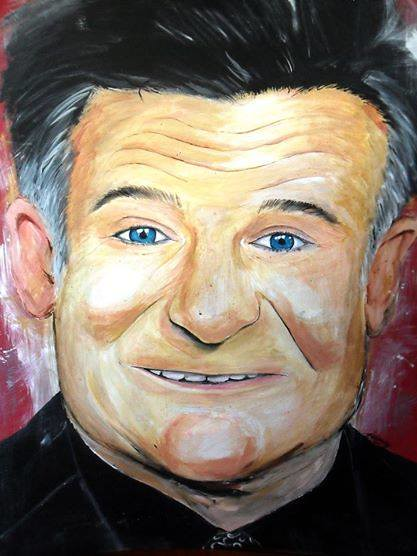 In memoriam of Robin Williams by Khervin Gallandez