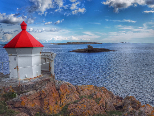lighthouse seascape nature norway landscape norge northseacoast brunlanes wbnawno
