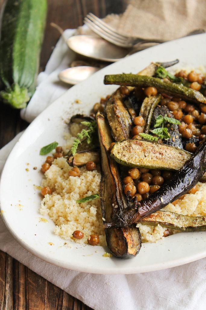 légumes d'été rôtis