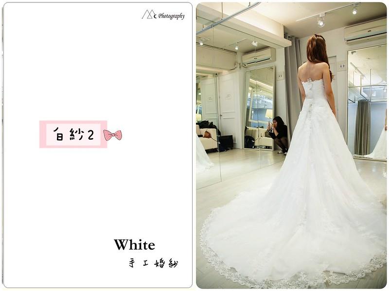 WHITE  白紗2-2