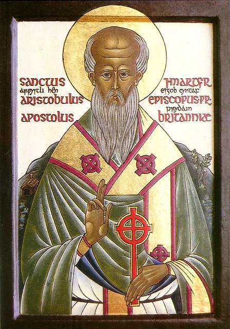 Sfantul Apostol Aristobul, episcopul Britanniei