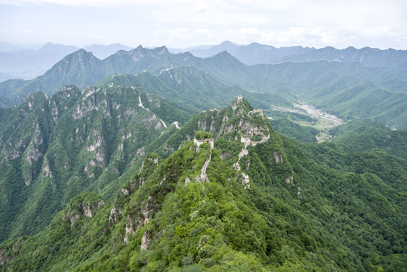 great wall of China - Jiankou section