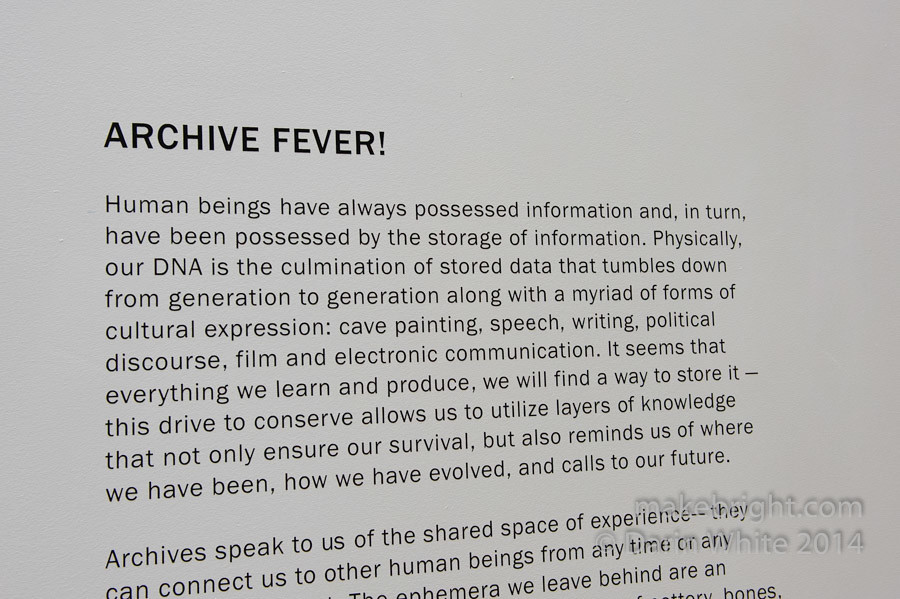 Archive Fever show - C2G2 - Sep 2014-139
