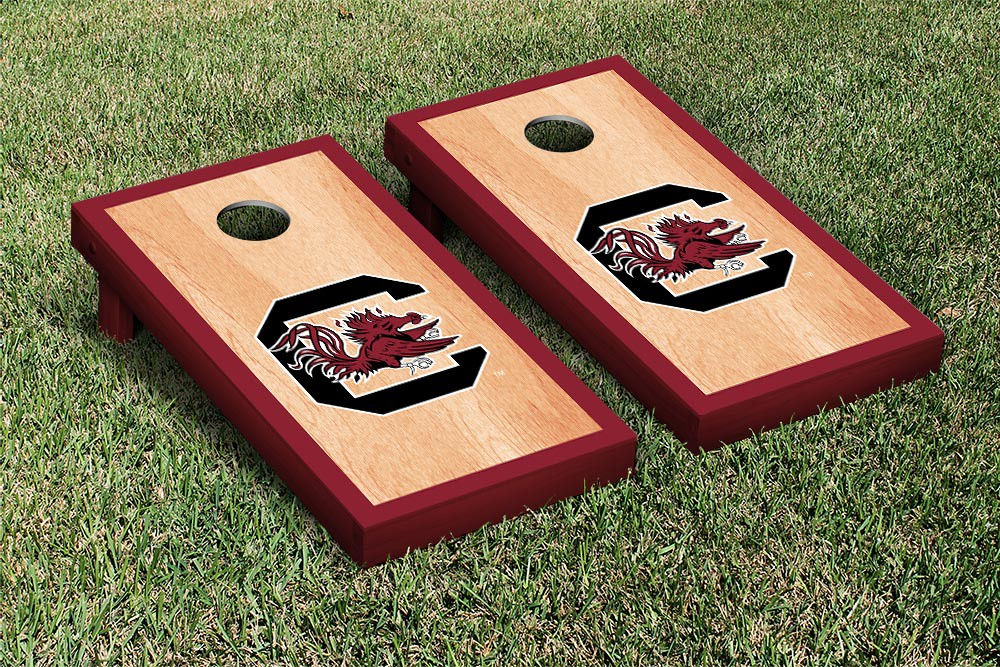 South Carolina Gamecocks Cornhole Game Set Hardcourt Version