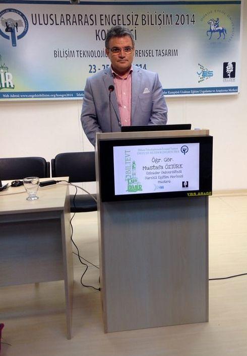 Üsküdar Üniversitesi Uluslararası Engelsiz Bilişim Kongresi'nde…