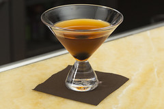 Geo Stemless Martini Glass