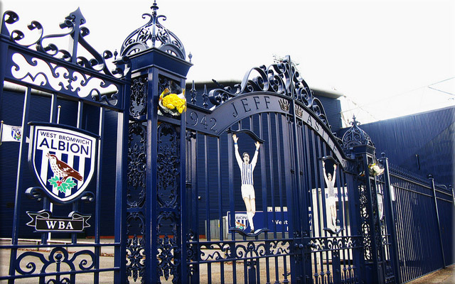 picture of Jeff Astle Memorial Gates - The Hawthorns Stadium