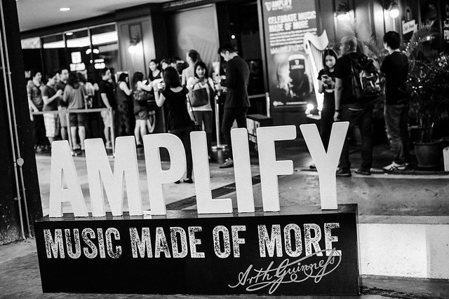 2. Entrance to Guinness Amplify First Live Tour Gig!