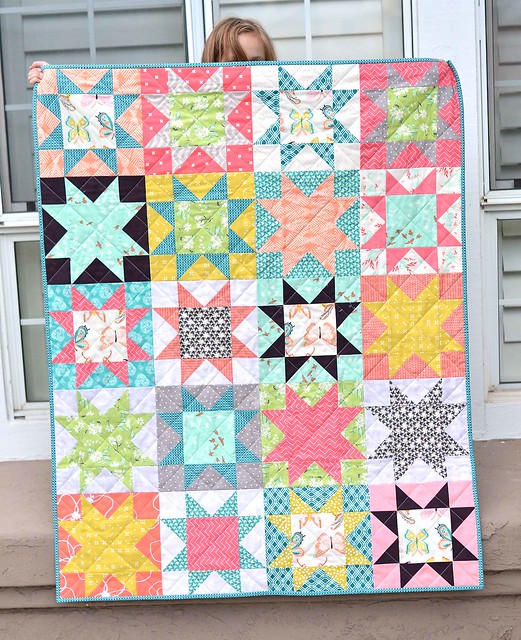 winged star quilt