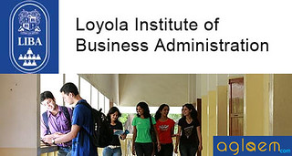 Loyola Institute of Business Administration (LIBA) Admission 2015