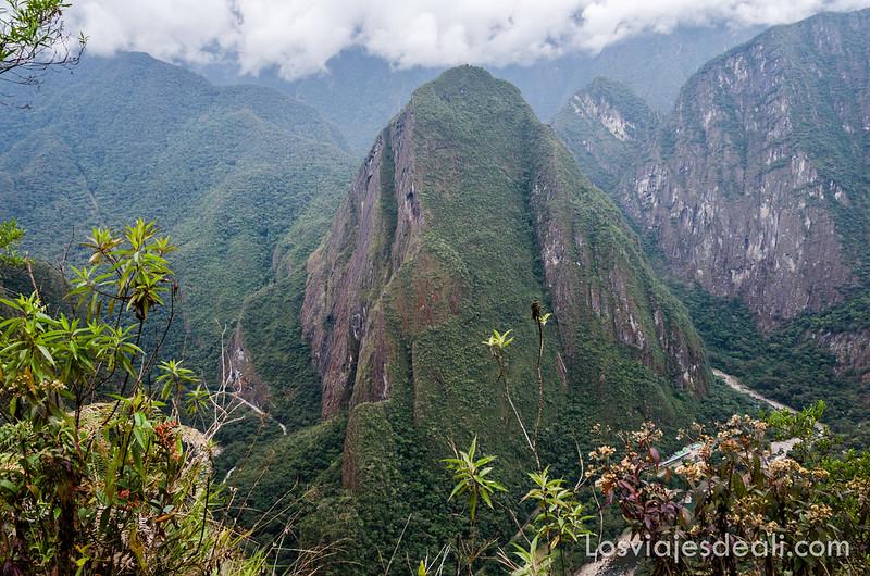 paisaje alrededor de Machu Picchu