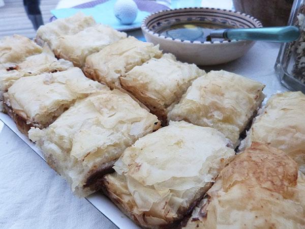 baklava au fromage