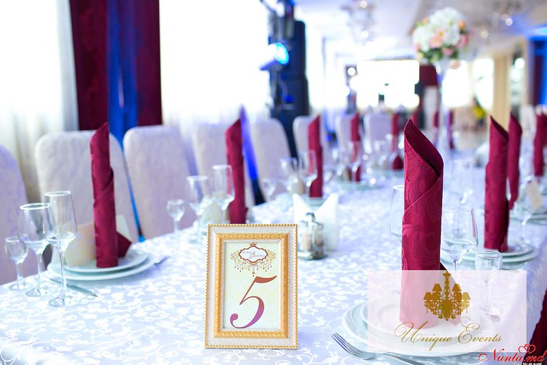 Unique Events: декорации для свадьбы > Фото из галереи `Nuntă în stil regal`