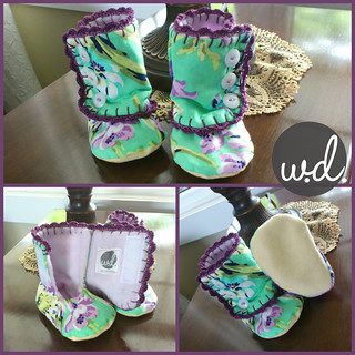 3 Button Booties