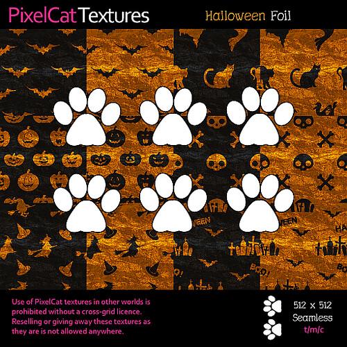 PixelCat Textures - Halloween Foil