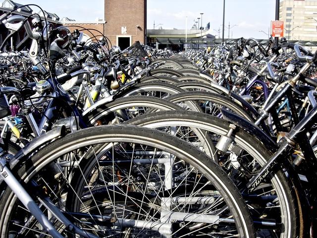 Fiets_Nijmegen station