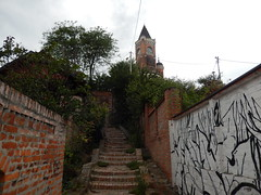 Gardoš tower in Zemun, Belgrade, Serbia