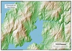 Mapa de la Ensenada de San Simón