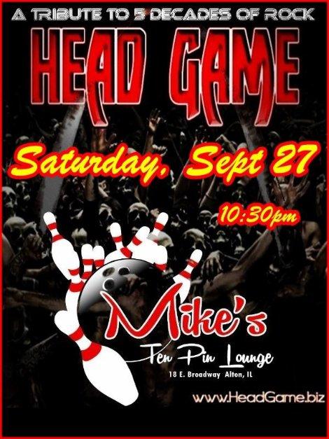 Head Game 9-27-14