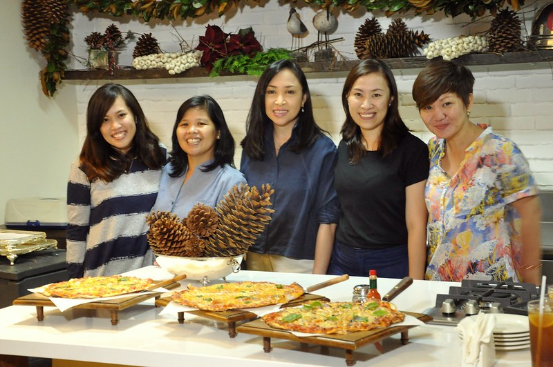 FoodPrints team with Chef Heny Sison