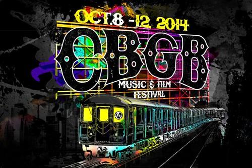 10/08 - 12/14 CBGB Music & Film Festival 2014 @ NYC, NY