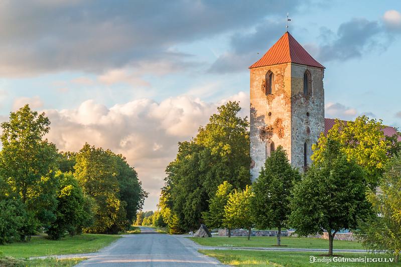 Landscape in Latvia