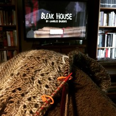 I'm going to write all day sometimes turns into Bleak House and #knitting.