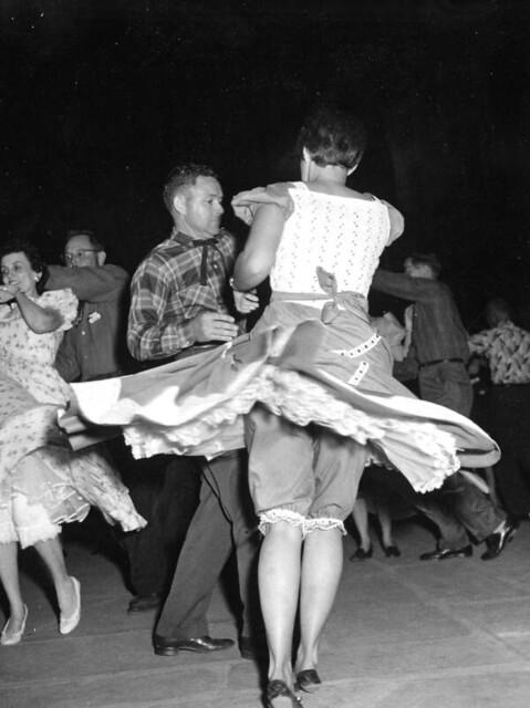 Lake City Squares at 1959 Folk Festival - White Springs