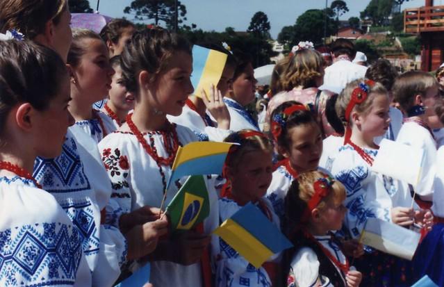 Inauguração do Memorial Ucraniano em Curitiba