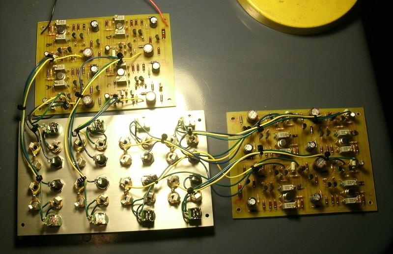 Buchla 110 Octal Module Wiring
