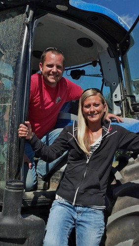 Eric and Allison are third generation farmers who used an FSA Operating Loan to take the business to the next level.
