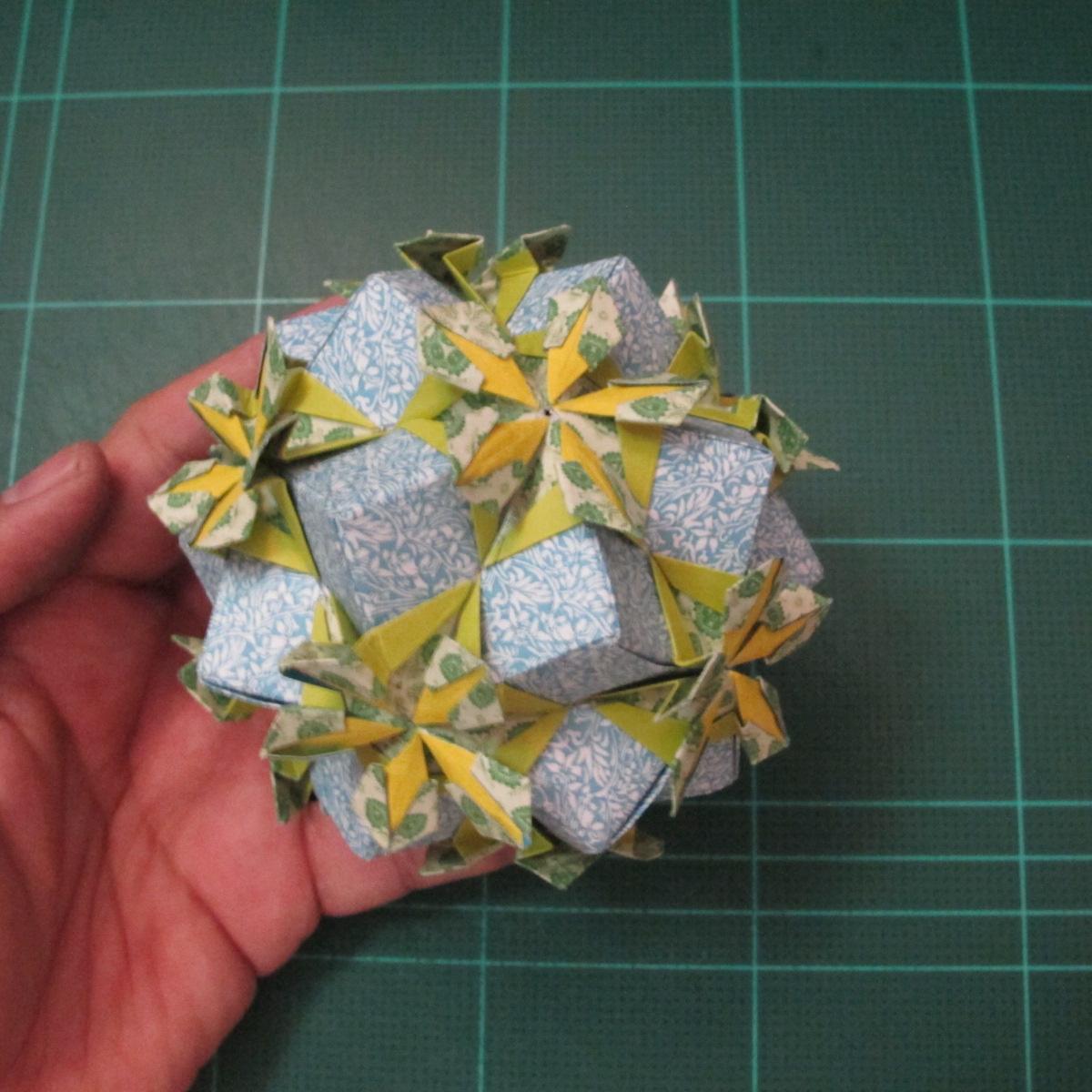 วิธีพับบอลกระดาษแบบเอสเตลล่าฟลอร์ (Estrella Flor Kusudama)021
