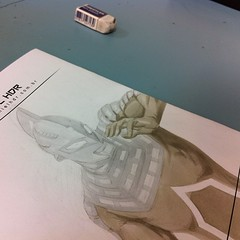 Work In Progress : #ultraseven @copicbrasil @copicmarker