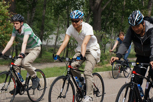 Unprecedented North Korea Bike Tour