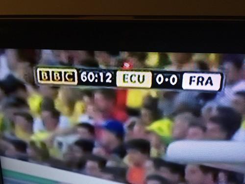 Ecuador v France