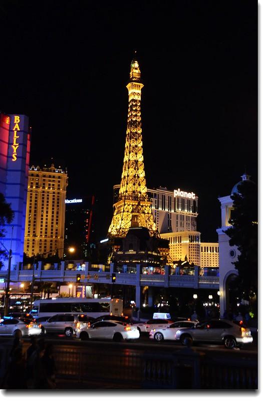 The Eiffel Tower at Paris Las Vegas 1