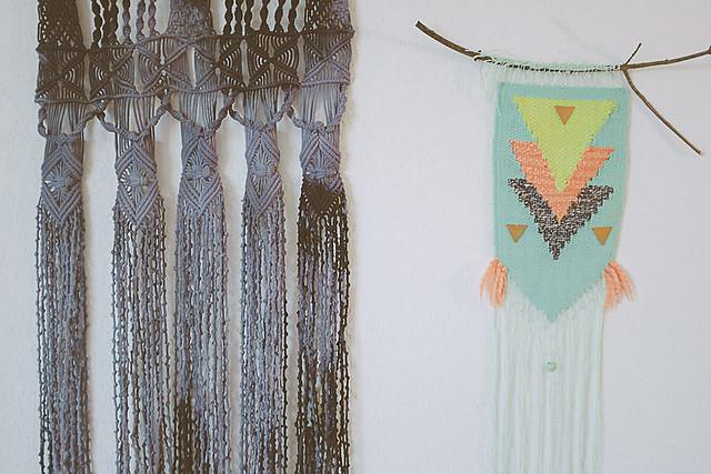 le macram tie and dye planb par morganours. Black Bedroom Furniture Sets. Home Design Ideas
