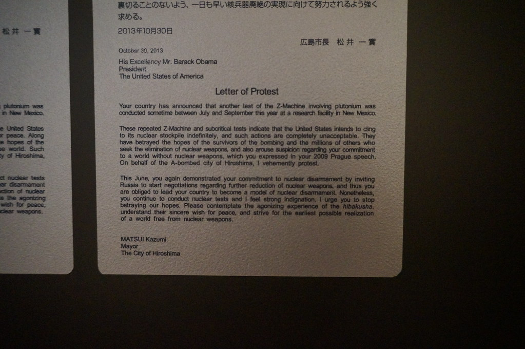 Japanese Letters of protest at atomic weapons tests   Flickr