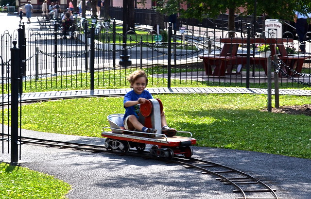 mini ride - Strasburg Railroad PA
