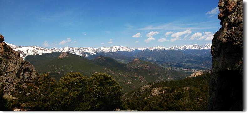 Rockies from Twin Sisters