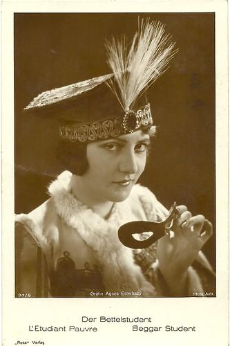 Agnes Esterhazy in Der Bettelstudent