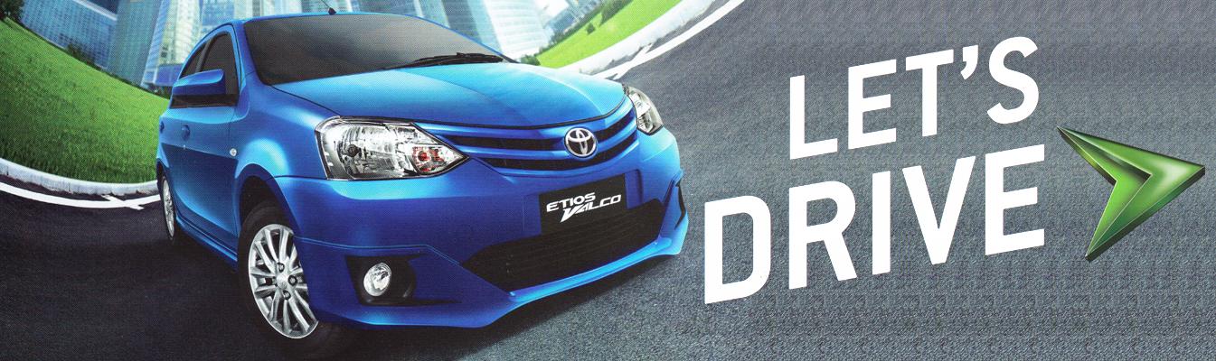 Mobil Toyota Etios di Jakarta