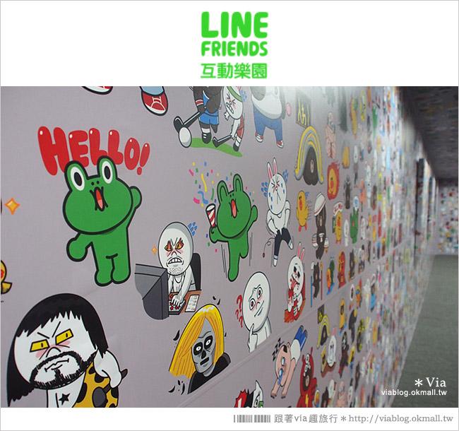 【台中line展2014】LINE台中展開幕囉!趕快來去LINE FRIENDS互動樂園玩耍去!(圖爆多)29