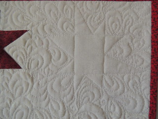 "Quilting Detail (in the ""empty"" square"