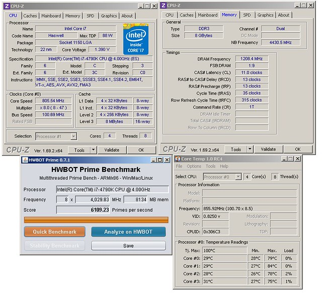 Flankers OC of Intel core i7-4790K Devils Canyon - Page 2