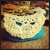 Little #crochet bag- outside