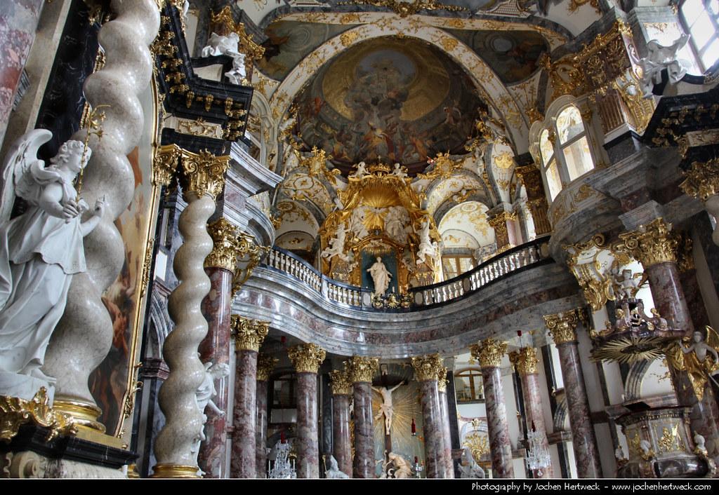 Hofkirche Allerheiligste Dreifaltigkeit, Würzburger Residenz, Würzburg, Germany