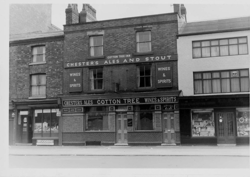 Cotton Tree Inn, Gt Ancoats Street, Manchester, July 1962