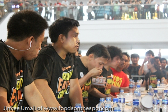 Yoshinoya 4th Gyudon Eating Contest 2014